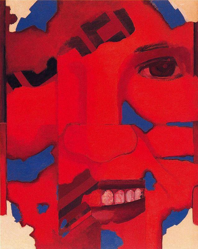 Luis Gordillo: Cabeza roja