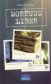Cubierta del libro Mortuus Liber, de Manuel Nonídez.