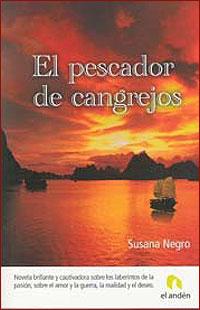 Cubierta del libro El pescador de cangrejos, de Susana Negro.