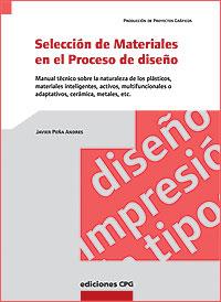 Cubierta del libro La Selección de Materiales en el Proceso de diseño.