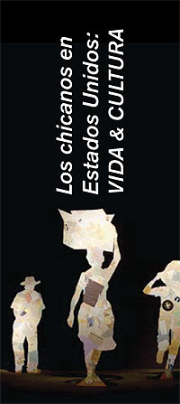 Cartel de las II Jornadas Cultura Chicana en directo.