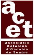 Logo de la ACET - Associació Catalana d'Escoles de Teatre