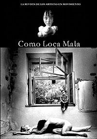 Portada de la Revista de literatura Como Loca Mala.