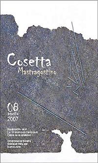 Muestra de la artista italiana Cosetta Mastragostino