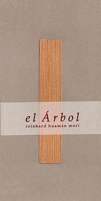 Cubierta del libro el Árbol, de Reinhard Huamán Mori.