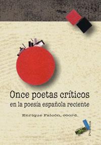 Cubierta de Once poetas críticos en la poesía española reciente.
