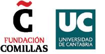 Logos Fundación Comillas y Universidad de Cantabria