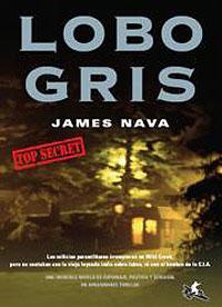 Cubierta del libro Lobo Gris, de James Nava.