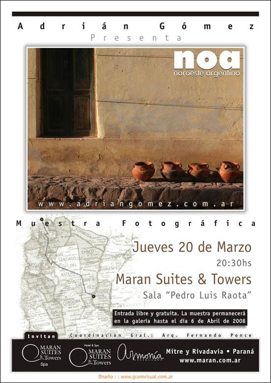 El fotógrafo y diseñador Argentino, Adrián Gómez presenta su serie fotográfica NOA (noroeste argentino)