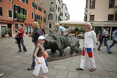 Ripollés regresa a Italia para exponer en Verona su colección de esculturas de gran tamaño.