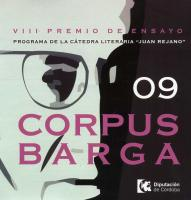Cartel del Premio de Ensayo Corpus Barga
