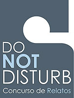 Logo del Concurso de Relatos Amorosos Do not disturb