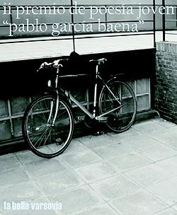 Detalle del cartel del II Premio de Poesía Joven Pablo García Baena, fotografía de Juan Marqués