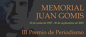 Premio de Periodismo Memorial Joan Gomis