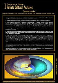 Cartel del Concurso de Cuento Revista Cultural Avatares