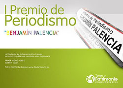 I Premio de Periodismo Benjamín Palencia