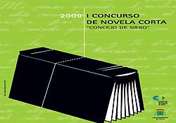 Cartel del Concurso de Novela Corta Concejo de Siero