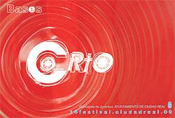 Cartel del Certamen Internacional de Cortometrajes Festival Corto Ciudad Real.
