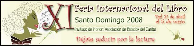 Cartel de la Feria del Libro de Santo Domingo