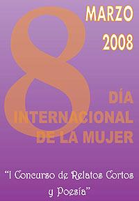 Logo del Concurso de Relatos Cortos y Poesía 8 de marzo - Día internacional de la mujer