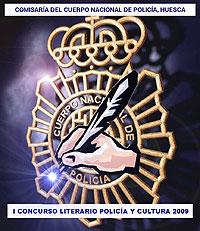 Cartel del Concurso Literario Policía y Cultura