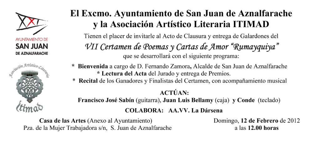 Invitación VII Rumayquiya