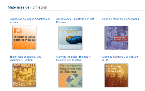 Materiales de Formación (ITE)